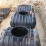 Наружная канализация для поселка