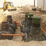 Система очистки канализационных стоков на поселок, город