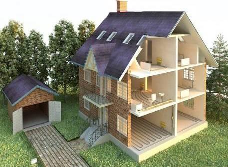 канализация в частном доме схема