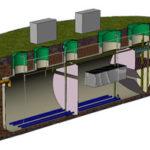 Канализация поселка Модификация HNV-P