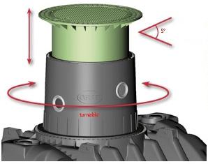 Телескопическая шахта септика OTTO GRAF CARAT-S