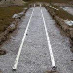 Фильтрующая траншея для септика (локальной канализации)