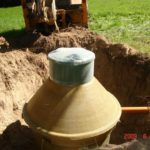 схема канализации частный дом